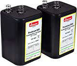 4R25 6V-Blockbatterie Ersatz für Nissen Laternenbatterie IEC 4R25 2er Set, 6V, Zink-Kohle