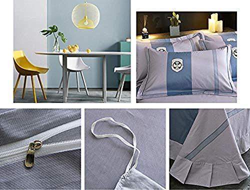 HHYXIN Ropa Cama niños Diseño Simple Tela cálida