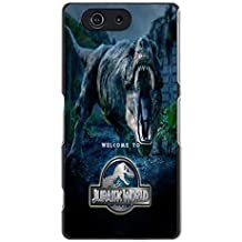 Long Long Ago Dinasour Jurassic World Phone caso Cover for Sony Xperia Z3 Compact / Z3 mini