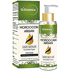StBotanica Moroccan Argan Hair Serum with Pure Argan Oil, Avocado and Grapeseed Oil -100ml