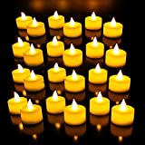 Pack Of 24 Beautiful Tea Light Candles, Led Candles,Party Candles Home Decoration Diwali White Free Shipping