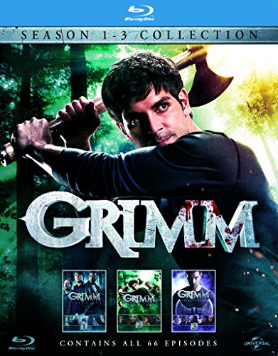 Grimm – Season 1-3 [Blu-ray]