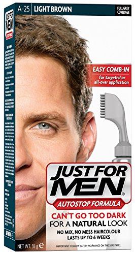 Just For Men Autostop Hair Color Light Brown A25
