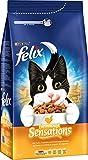 Felix Katzentrockenfutter Farmhouse Sensations mit Huhn, Truthahn und Gemüsezugabe, 2er Pack (2 x 2 kg)