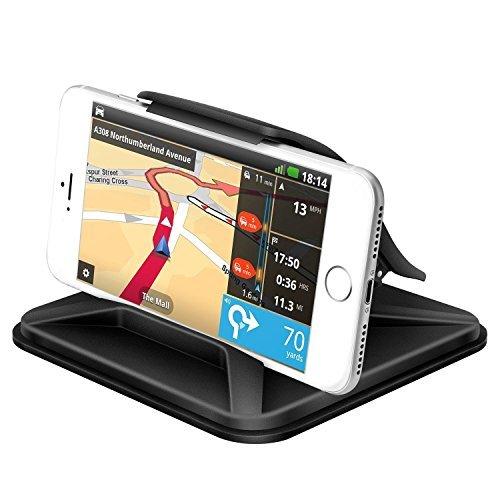 yiiyaa Smartphone Halterung KFZ, PKW Universal Handyhalterung fürs Auto, Handyhalterung Wasserdicht Oberfläche Handyhalter für Smartphone Handys Tablet Navi GPS Geräte
