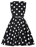 Niña Vestido Vintage de Fiesta Vestido de Noche Audrey Hepburn Vestido 50s 9 Años KK250-16