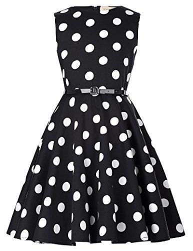 ro 50er Kleid Ballkleid Sommerkleid 8-9 Jahre KK250-16 ()