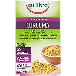 Equilibra Integratore Alimentare Curcuma - 1 Flacone da 20 Compresse