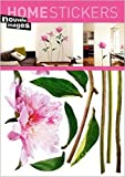 1art1 40085 Blumen - Rosa Pfingstrose Wand-Tatoos Aufkleber Poster-Sticker (70 x 50 cm)
