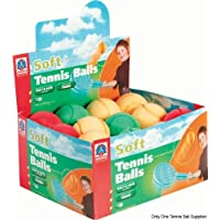 Soft Tennis Ball - One Supplied, Assorted Colours