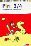 Piri - Das Sprach-Lese-Buch - Neukonzeption/Förderheft 3./4. Schuljahr