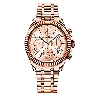"Thomas Sabo Watches, Women Women's Watch ""DIVINE CHRONO"", Stainless steel"