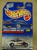 Hot Wheels Shelby Cobra 427 S/C White W/ Flames #1024 Die-Cast Car by Hot Wheels