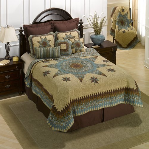 donna-sharp-sea-breeze-star-100-coton-full-queen-couette