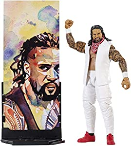 WWE Figura Elite Wrestlemania de acción, luchador Jey Uso (Mattel FMG28)