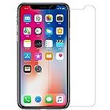 Nillkin Protector de Pantalla iPhone XS/X 0.2mm Ultra Delgado 2.5D Cristal Templado Protector de Pantalla y Protector Trasero para Apple iPhone XS/X Tempered Glass
