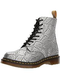 Amazon.fr   Dr martens - Argenté   Chaussures femme   Chaussures ... 1ad0dd65af78