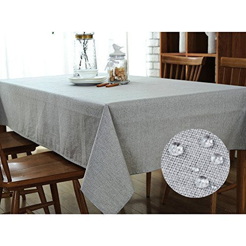 Tablecloths Wipe Clean,Linen Tab...