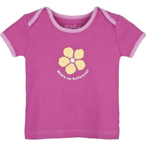Life is Good Baby What 's Up Ringer Tee, Mädchen, Hot Fuchsia (T-shirt Ringer Mädchen Kinder)
