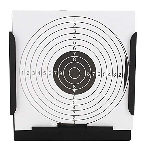 Zer one Porte-Cible Airsoft, Carabine à air comprimé Pistolet Bullet La Pratique du tir au Fusil à air Cible Le piège à pellets pour Carabine à air comprimé Airsoft