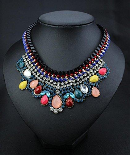 Preisvergleich Produktbild XX Vollständige Diamant-Halskette Kettenzubehör , , Seven Colors,, seven colors