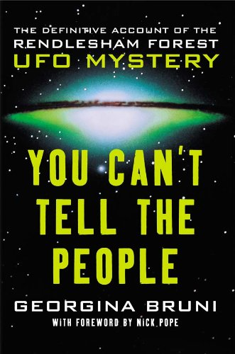 Kindle e-Books New Release You Can't Tell the People: The Definitive Account of the Rendlesham Forest UFO Mystery FB2