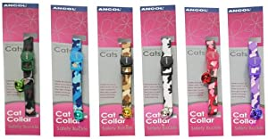 Ancol Safety Buckle Cat Collar Camouflage 20g from Ancol