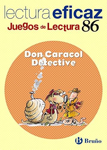Don Caracol Detective Juego Lectura (Castellano - Material Complementario - Juegos De Lectura) - 9788421657393 por Mª Trinidad Labajo González