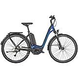 Bergamont E-Ville Deore Pedelec Elektro Trekking Fahrrad schwarz/blau 2019: Größe: 52cm (170-178cm)
