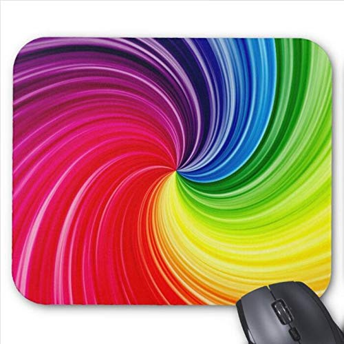 Gaming Mouse Pad Buntes Design für Desktop und Laptop 1 Packung 30x25 cm