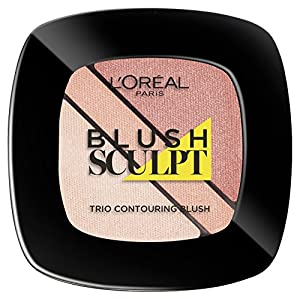 L'Oreal Paris Infallible Face Blush Trio Nude Beige 30g