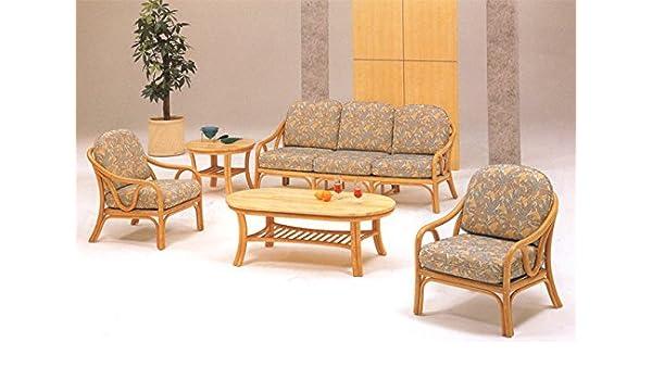 Cane World Rattan And Cane Retro Sofa Set Center Table With Glass