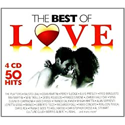 4 CD the Best Of Love, Vasco Rossi, Mia Martini, Massimo Ranieri 100 Canzoni D'Amore