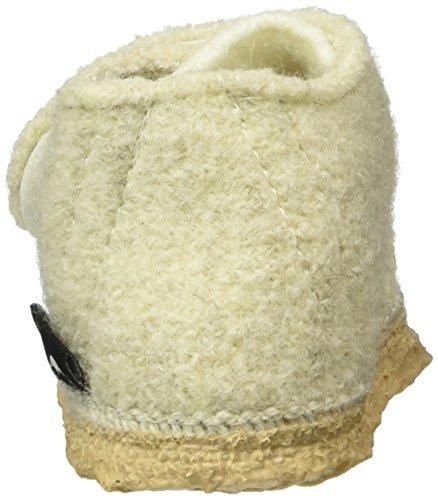 NangaStern - Pantofole Bimba 0-24 Bianco (Weiß (winterweiß / 11))