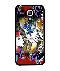 PrintVisa Designer Back Case Cover for Samsung Galaxy S3 Mini I8190 :: Samsung I8190 Galaxy S Iii Mini :: Samsung I8190N Galaxy S Iii Mini (Pattern Design God Peace Music Ganna Performance Art)
