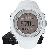 Suunto Unisex Ambit3 Multisport GPS-Uhr, 15 Std. Akkulaufzeit, Herzfrequenzmesser + Brustgurt (Gr. M), Wasserdicht bis 50 m