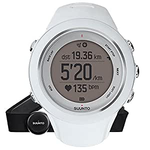 Suunto SS020680000 Ambit 3 Watch (White/Silver)