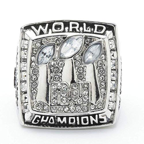 XYQ Champion Ring Fan High-End Kollektion Ring Fangift-Dekorring, Silber, 13 (Armband 49ers)