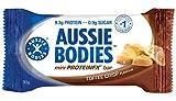 Aussie Bodies Mini Protein FX Nutrition Bar, Toffee Crisp, Pack of 12