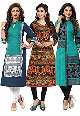 Salwar Studio Women's Cotton Dress Material