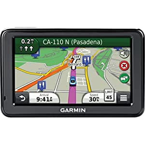 "Garmin Nuvi 2475LT 4.3"" Sat Nav with Europe and North America Maps, Lifetime Traffic and Bluetooth"