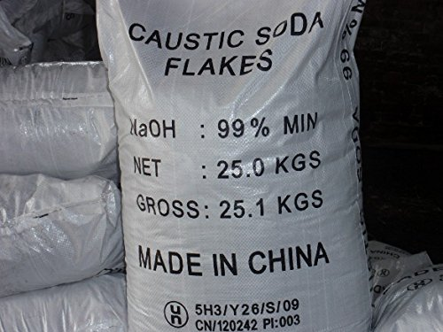 SODA Detergente soda caustica a scaglie idrossido di sodio 25 kg