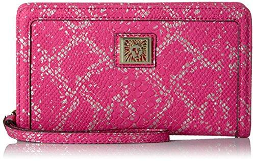 Anne Klein Bracelet Zip fourre-tout parfait, Rose/Or