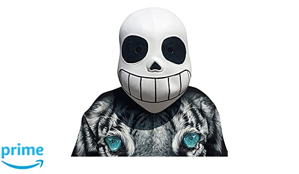 Undertale Sans Mask - Perfect for Carnival & Halloween