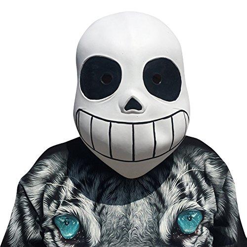 ans Maske - perfekt für Fasching, Karneval & Halloween - Kostüm für Erwachsene - Latex, Unisex Einheitsgröße ()