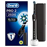 Oral-B Pro 2 2500 CrossAction Oplaadbare Elektrische Tandenborstel, Powered By Braun, 1 Handvat, 1 Opzetborstel, 1 Etui