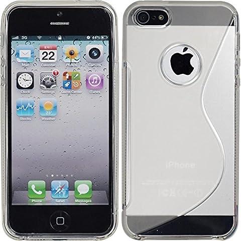 Coque en Silicone pour Apple iPhone 5 / 5s /