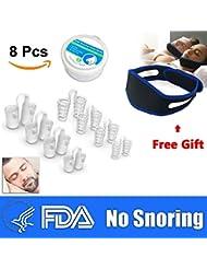 Dilatador Nasal | Dispositivo Anti-Ronquidos | Solución Para Roncar | Dilatadores Nasales 8 Piezas