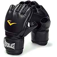 Everlast MMA - Guantes para artes marciales mixtas (cierre de velcro), color negro negro negro Talla:Large/X-Large