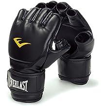 Everlast MMA - Guantes para artes marciales mixtas (cierre de velcro), color negro negro negro Talla:Large / X-Large
